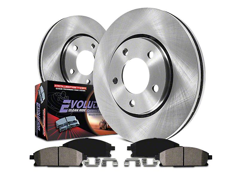 Power Stop OE Replacement Brake Rotor & Pad Kit - Front & Rear (07-13 Silverado 1500 w/ Rear Disc Brakes)