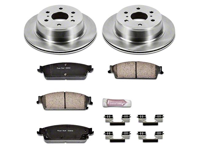 Power Stop OE Replacement Brake Rotor & Pad Kit - Rear (07-13 Silverado 1500 w/ Rear Disc Brakes)