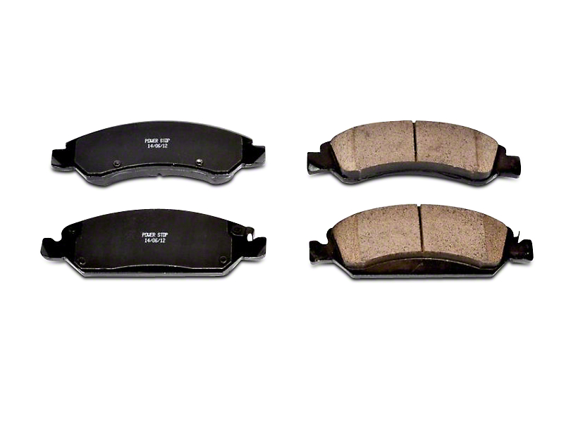 Power Stop Z16 Evolution Clean Ride Ceramic Brake Pads - Front Pair (07-18 Silverado 1500)