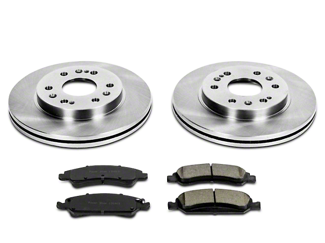 Power Stop OE Replacement Brake Rotor & Pad Kit - Front (07-18 Silverado 1500)
