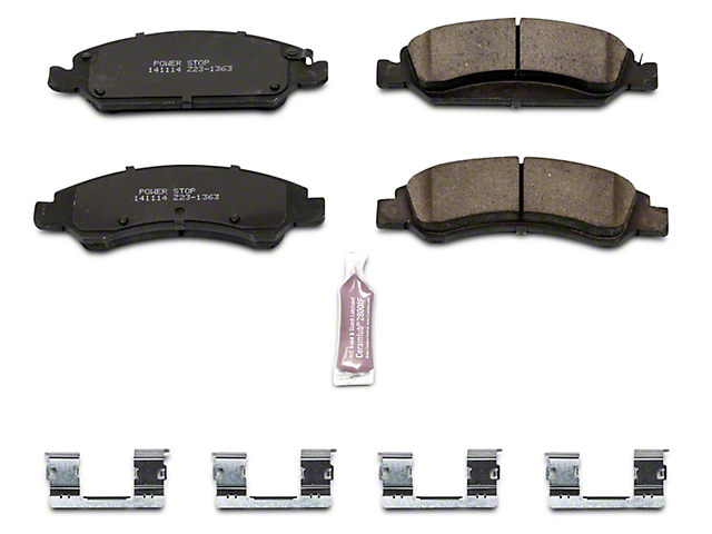 Power Stop Z23 Evolution Sport Ceramic Brake Pads; Front Pair (07-18 Silverado 1500)