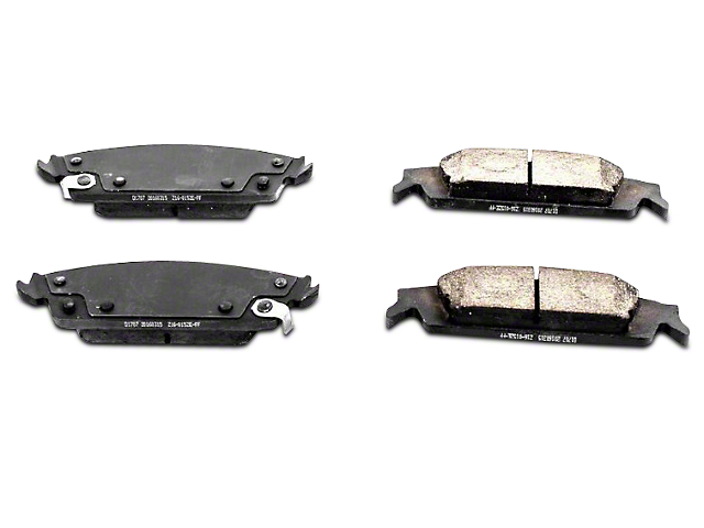 Power Stop Z16 Evolution Clean Ride Ceramic Brake Pads - Rear Pair (14-18 Silverado 1500)