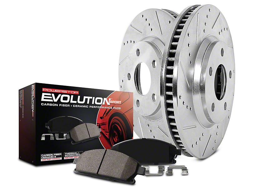 Power Stop Z23 Evolution Sport Brake Rotor & Pad Kit - Rear (14-18 Silverado 1500)
