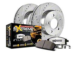 Power Stop Z36 Extreme Truck & Tow Brake Rotor & Pad Kit - Rear (14-18 Silverado 1500)