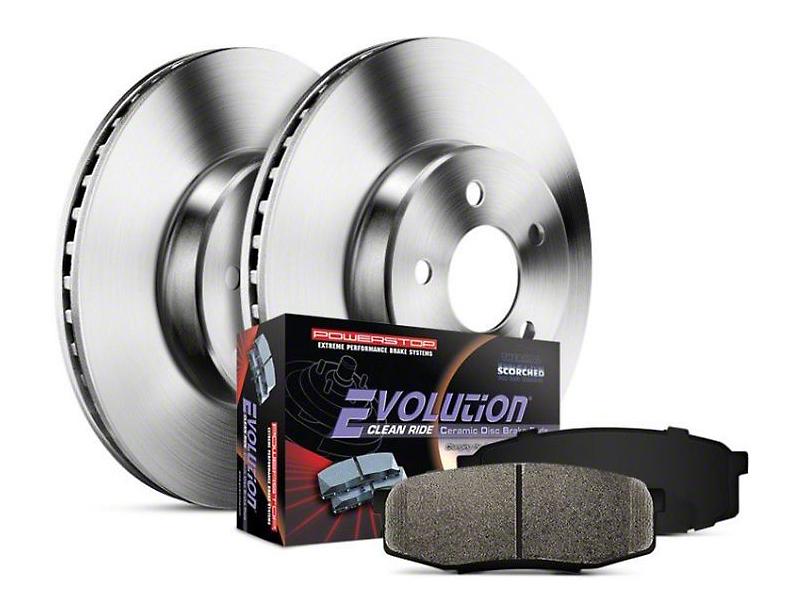 Power Stop OE Replacement Brake Rotor & Pad Kit - Rear (14-18 Silverado 1500)