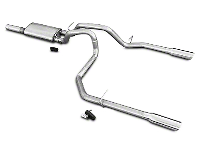 Pypes Violator Dual Exhaust System - Rear Exit (10-18 6.2L Silverado 1500)