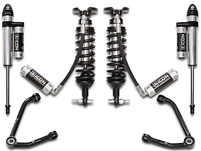 ICON Vehicle Dynamics 1-3 in. Suspension Lift System - Stage 4 (07-18 Silverado 1500)