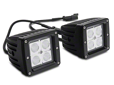Barricade LED Fog Lights for Barricade Extreme HD Front Bumpers (07-18 Silverado 1500)