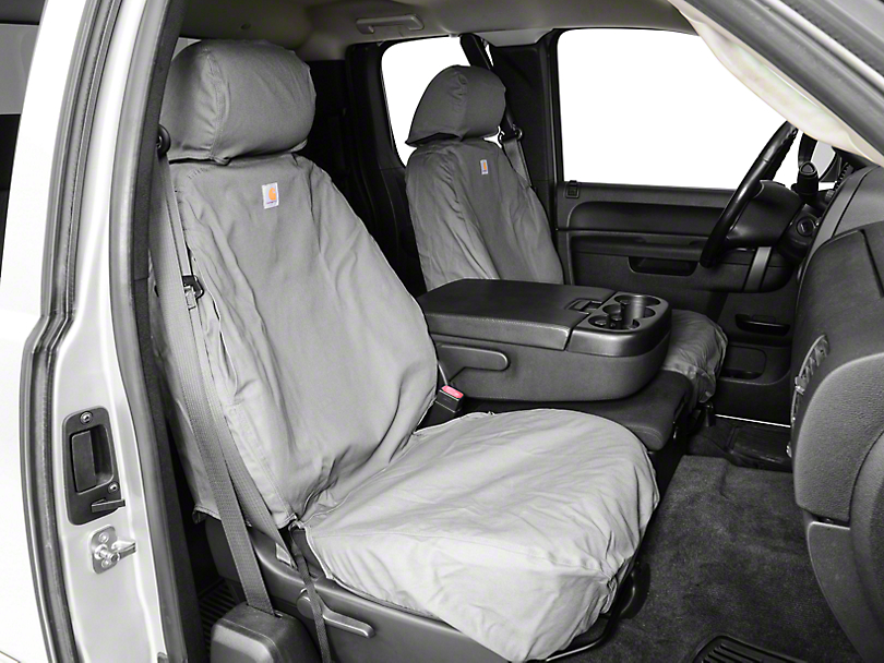 Carhartt Truck Seat Covers >> Covercraft Silverado Carhartt Seat Saver Front Seat Covers ...