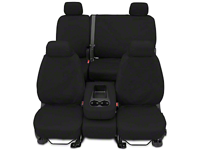 Covercraft Seat Saver Front Seat Covers - Charcoal (14-18 Silverado 1500 w/ Bench Seat)
