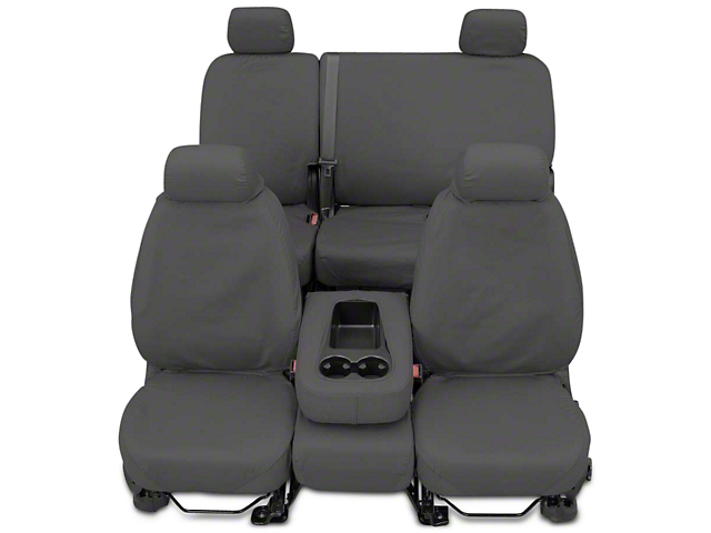 Covercraft SeatSaver Front Seat Covers - Gray (2017 Silverado 1500 w/ Bench Seat)