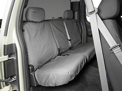 Covercraft Seat Saver 2nd Row Seat Cover - Charcoal (07-13 Silverado 1500 Extended Cab, Crew Cab)