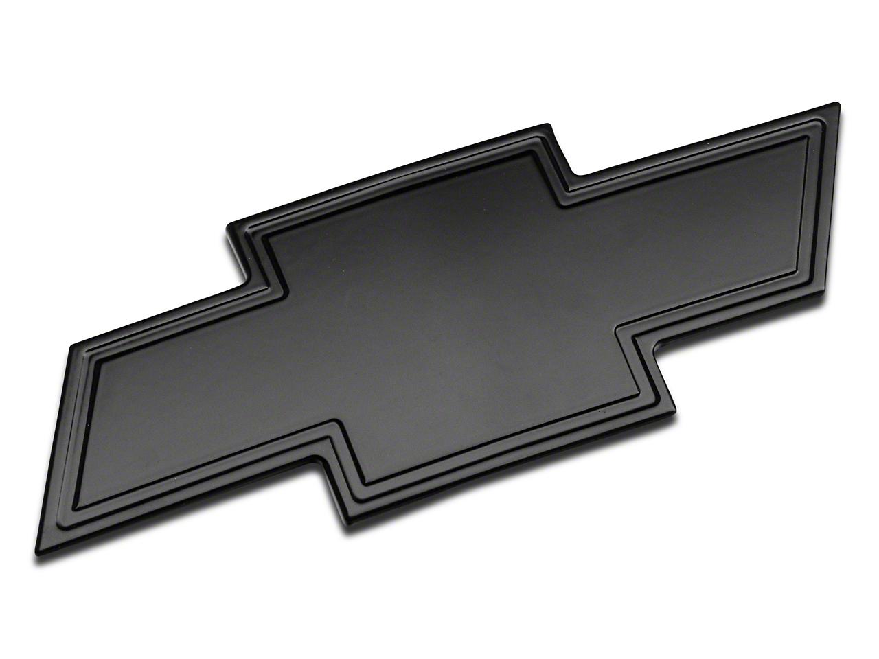 T-REX Front Black Billet Bowtie Emblem w/ Border (07-13 Silverado 1500)