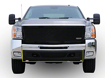 T-REX Upper Class Series Lower Air Dam Bumper Mesh Grille Insert - Black (07-13 Silverado 1500)