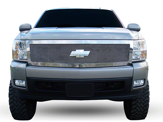 T-REX Upper Class Series Upper Replacement Grille - Polished (07-13 Silverado 1500)