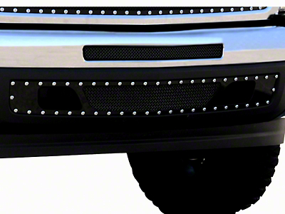 T-REX X-Metal Series Lower Air Dam Bumper Grille Insert - Black (07-13 Silverado 1500)