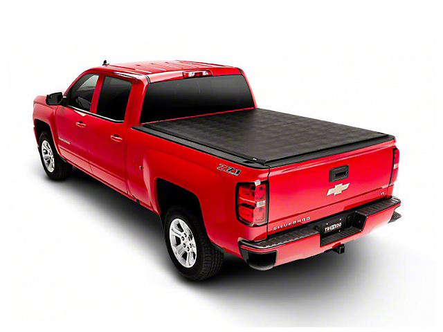 Truxedo Titanium Hard Roll-Up Tonneau Cover (14-18 Silverado 1500)