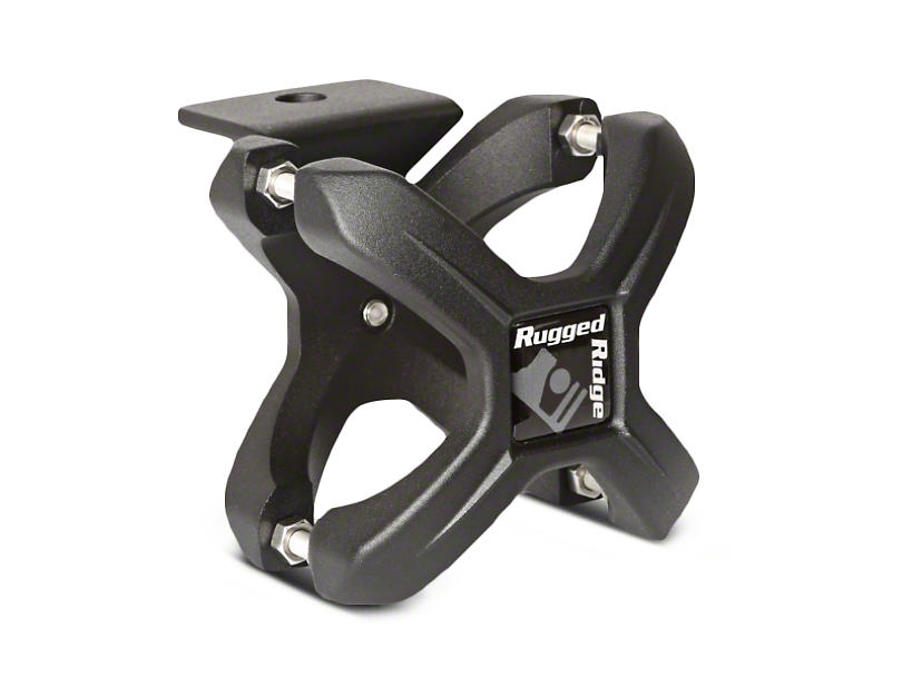 Rugged Ridge 2.25-3 in. X-Clamp - Textured Black (99-19 Silverado 1500)