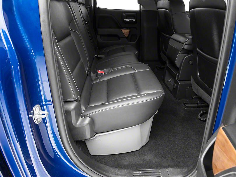 DU-HA Underseat Storage - Ash Gray (14-18 Silverado 1500 Double Cab, Crew Cab)