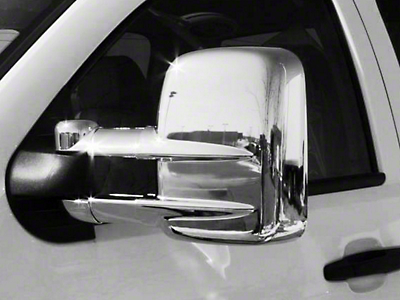 Putco Chrome Mirror Covers (07-15 Silverado 1500 w/ Towing Mirrors)
