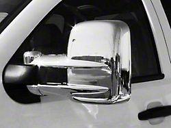 Mirror Covers; Chrome (07-15 Silverado 1500 w/ Towing Mirrors)