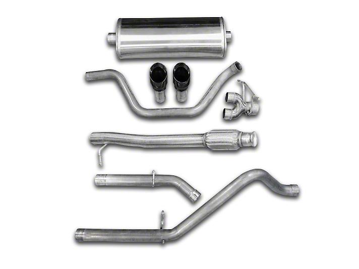 Corsa 3 in. Sport Dual Exhaust System w/ Black Tips - Rear Exit (07-08 5.3L Silverado 1500)