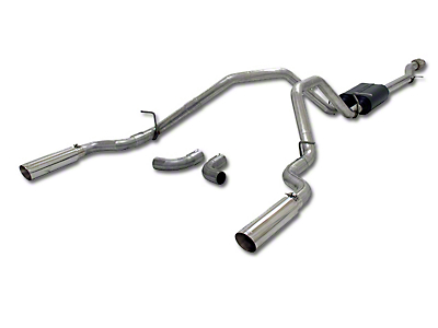 Flowmaster American Thunder Dual Exhaust System - Side/Rear Exit (14-18 4.3L Silverado 1500)