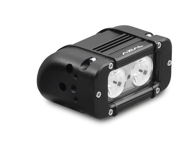 Axial 5 in. 2-LED Rectangular Light - Spot Beam