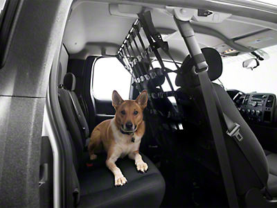 Dirty Dog 4x4 Pet Divider - Black (07-18 Silverado 1500 Extended/Double Cab, Crew Cab)