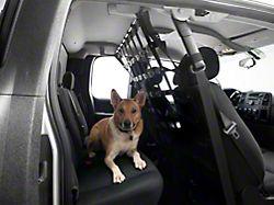 Dirty Dog 4x4 Pet Divider; Black (07-18 Silverado 1500 Extended/Double Cab, Crew Cab)