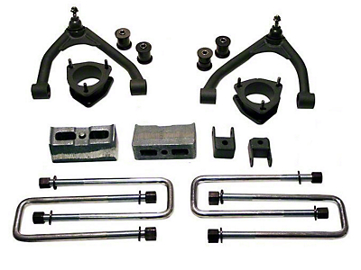Tuff Country 4 in. Suspension Lift Kit (07-18 2WD Silverado 1500 w/ Cast Steel Control Arms)