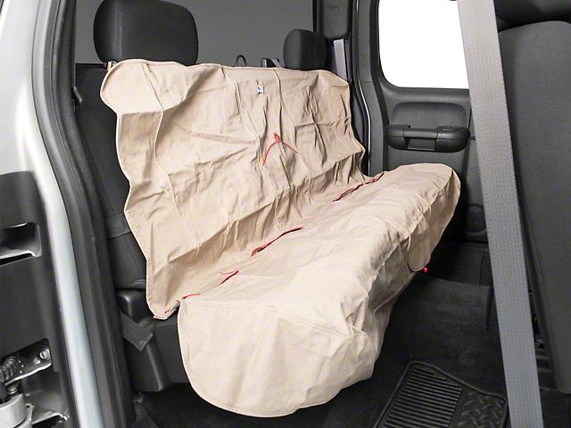 Car Bench Seat Covers >> Silverado Rear Bench Seat Cover Heather Nutmeg 07 19 Silverado
