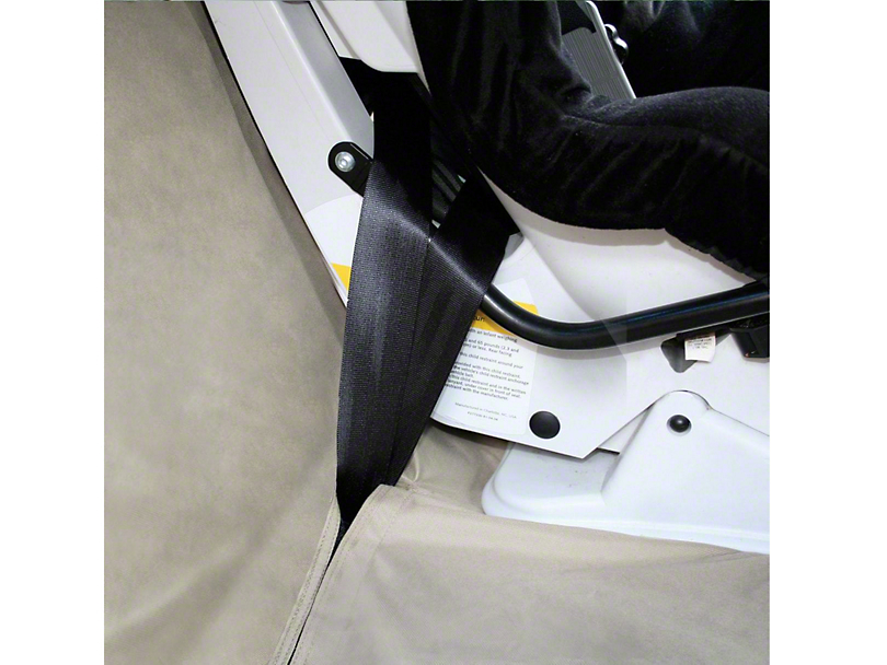 Extended Width Wander Rear Bench Seat Cover - Hampton Sand - 63 in. wide (07-19 Silverado 1500 Extended/Double Cab, Crew Cab)