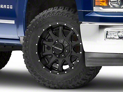Raceline Shift Black 6-Lug Wheel - 20x12 (07-18 Silverado)