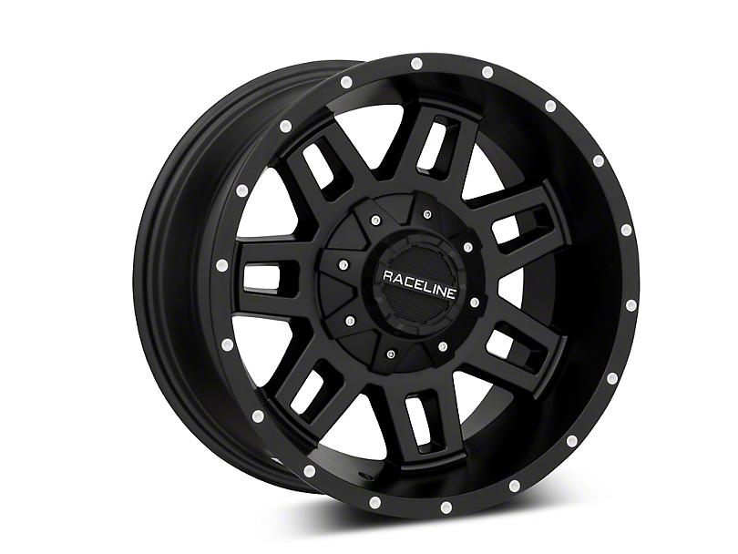 Raceline Injector Black 6-Lug Wheel - 17x9 (99-18 Silverado 1500)