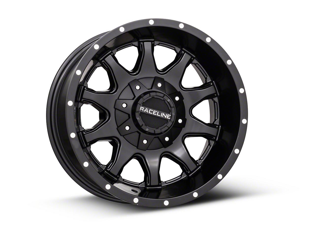 Raceline Shift Black 6-Lug Wheel - 17x9 (99-18 Silverado 1500)