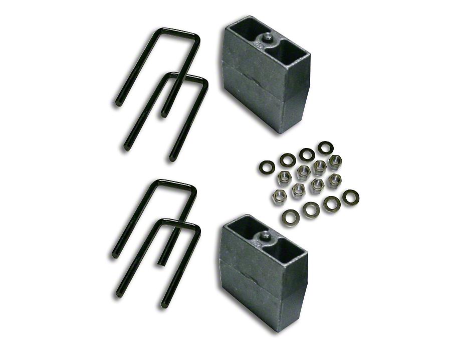 SuperLift 5 in. Rear Lift Block Kit (07-18 Silverado 1500)