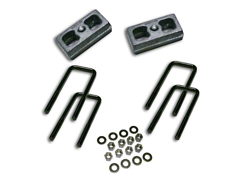 SuperLift 1.50-Inch Rear Lift Block Kit (07-18 Silverado 1500)