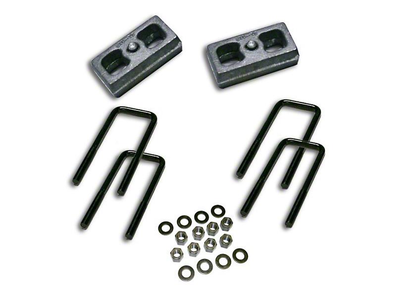 SuperLift 1.5 in. Rear Lift Block Kit (07-18 Silverado 1500)