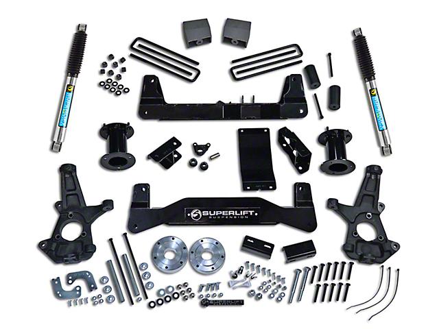 SuperLift 6.5 in. Suspension Lift Kit w/ Bilstein Shocks (07-13 4WD Silverado 1500)