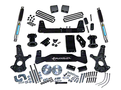 SuperLift 6.5 in. Suspension Lift Kit w/ Bilstein Shocks (07-13 4WD Silverado 1500)