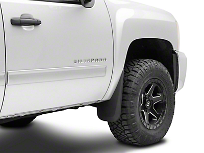 Husky Front & Rear Mud Guards (07-13 Silverado 1500)