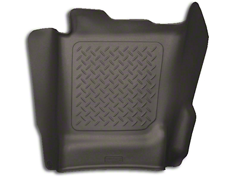 Husky X-Act Contour Center Hump Floor Liner - Cocoa (14-18 Silverado 1500 Double Cab, Crew Cab)
