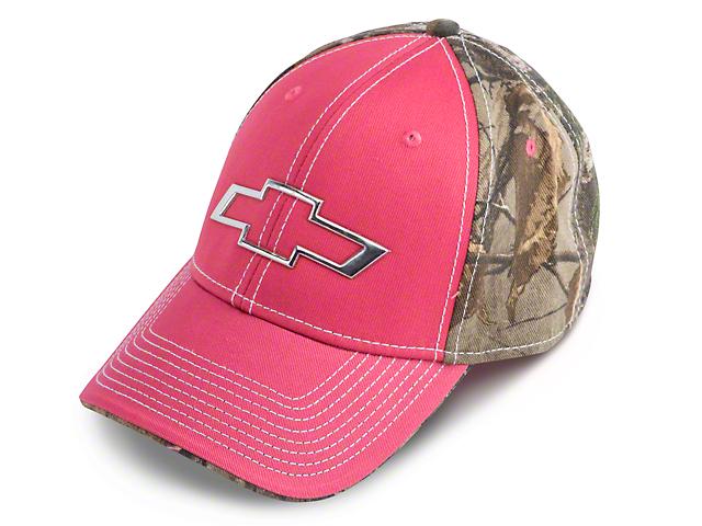 Chevy Bowtie Hat - Pink
