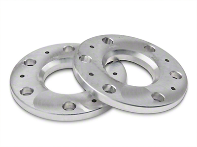 ReadyLIFT Billet Aluminum Hubcentric Spacers - 0.5 in. (99-18 Silverado 1500)