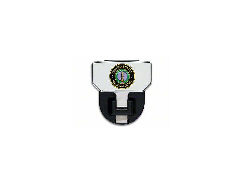 Carr HD Hitch Step w/ US National Guard Logo (99-18 Silverado 1500)