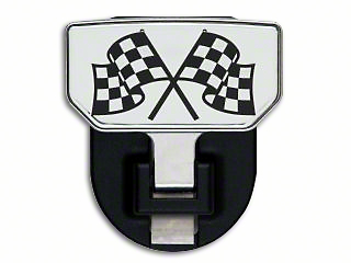 Carr HD Hitch Step w/ Checkered Flag Logo (99-18 Silverado 1500)
