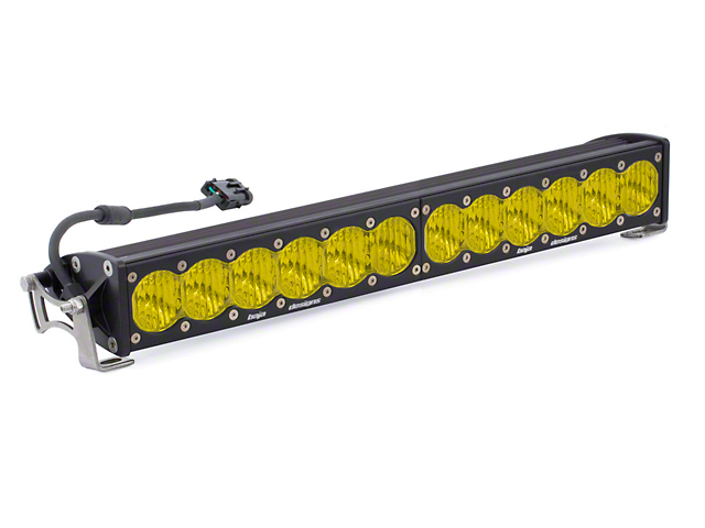 Baja designs silverado 20 in onx6 amber led light bar wide onx6 amber led light bar wide driving beam mozeypictures Choice Image