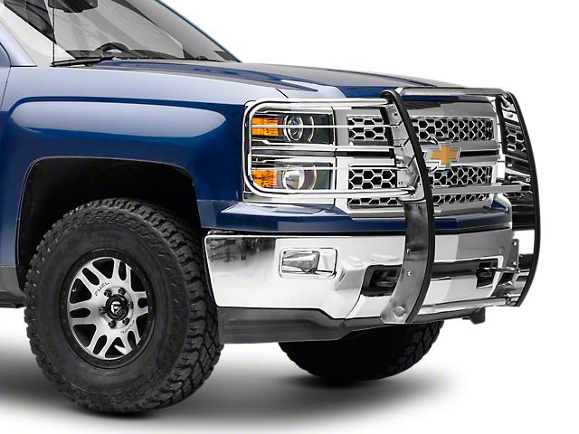 Black Horse Off Road Grille Guard - Stainless Steel (14-17 Silverado 1500)