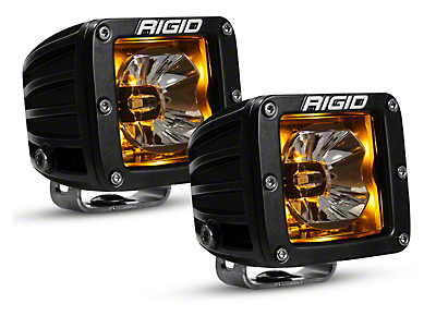 Rigid Industries D-Series Radiance LED Cube Lights w/ Back-Light - Flood/Spot Combo